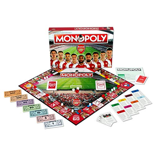 Arsenal FC Monopoly Board Game