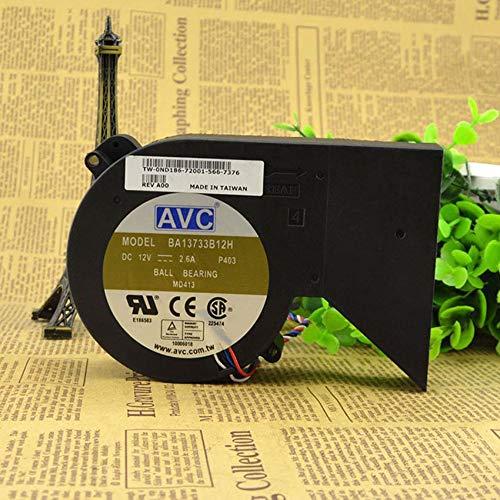 AVC BA13733B12H MD413 ND186 DC12V 2.60A GX280 (5 pin 4 wire) fan