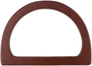 Prettyia DIY Wooden Purse Bag Handle Handbag Accessories Wood Frame Evening Clutch Handle Part