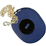 Intrepid International Poly Lunge Line with Chain and Rubber Stopper, Navy