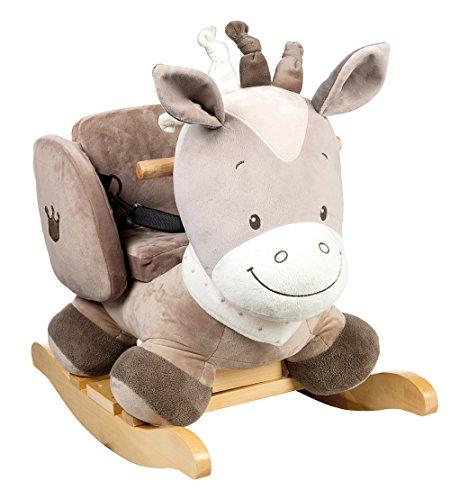 Nattou Schaukeltier ab 1 Jahr mit Gurt, Mädchen und Jungen - Noa das Pferd