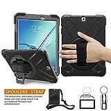 Galaxy Tab S2 20,3 cm Coque, Braecn trois Couche Heavy Duty Coque de protection...