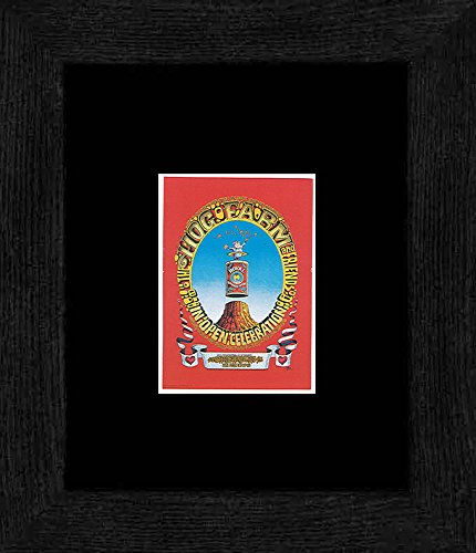 Preisvergleich Produktbild Stick It On Your Wall Hog Farm Celebration Poster von Rick Griffin CINEMATIQUE 16 Los Angeles 1969 gerahmtes Mini Poster 20 x 18 cm