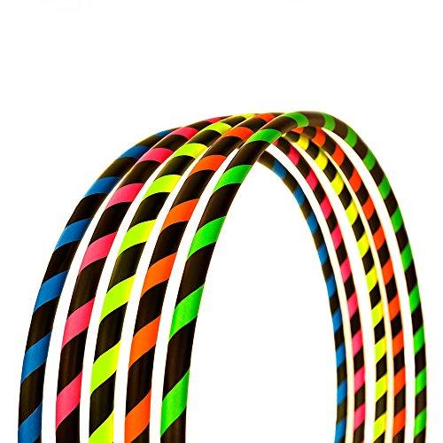 Hoopomania Fitness Hula Hoop Reifen, Neon Pink, 95 cm