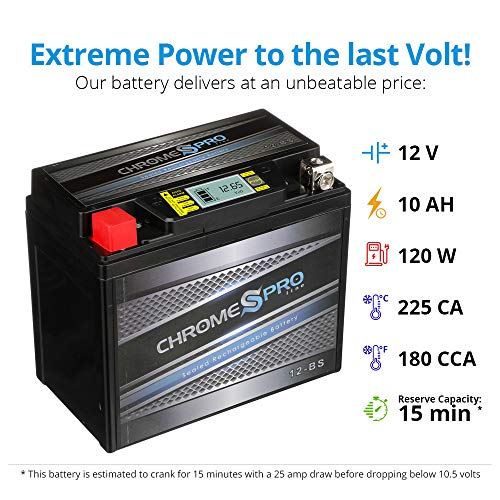 Sealed Motorcycle Battery Reserve Capacity