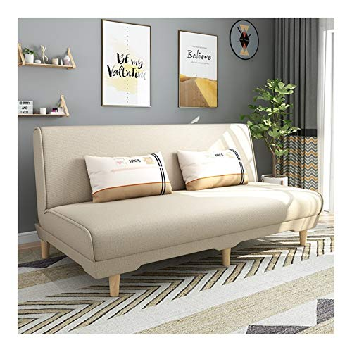 Sofa Bed Sleeper Convertible Lounge Futon Couch, Dual-purpose Foldable Sofa Bed, Multi-Functional Adjustable Recliner, Couch Bed Sofa Pull Out for Kids, Home Office Apartment Bed (Size : 59in)
