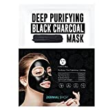 Dermal Korea Deep Purifying Black Charcoal Mask 25g Pack of 5