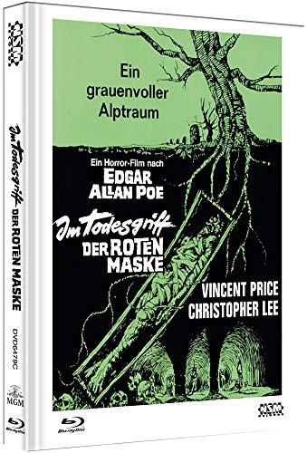 Im Todesgriff der roten Maske - The Oblong Box [Blu-Ray+DVD] - uncut - auf 222 Stück limitiertes Mediabook Cover C