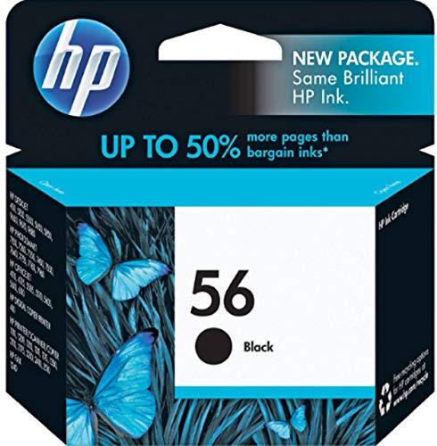 HP 56 Black Ink Cartridge C6656AA