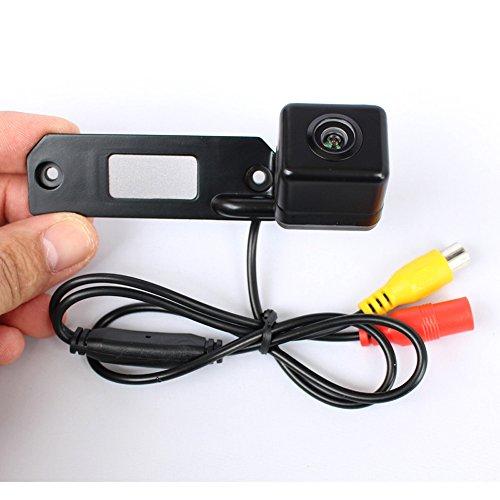 Caméra de recul couleur caméra de recul vision nocturne et système de recul étanche et anti-chocs pour Caddy/Transporter T5/Caravell/Golf Plus/Polo/Bora/Phaeton