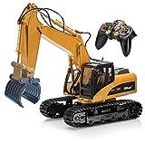 Top Race 15-Kanal-Fernbedienung RC Gabelbagger, Construction Greifer Gabel Traktor Metall Gabel. TR-215