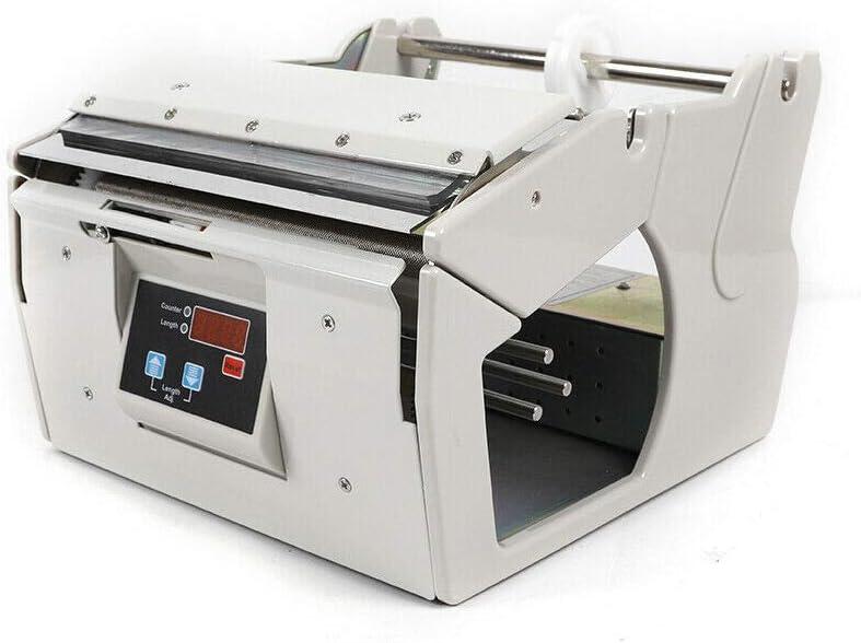Eapmic Automatic Label Dispenser, 110V Adjustable Speed Automati