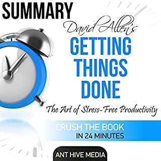 Summary David Allen's Getting Things Done audiobook cover art