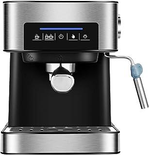 Máquina de café, máquina de café espresso de 1.5L 220V, máquina de café 20Bar, máquina de café italiana semiautomática par...