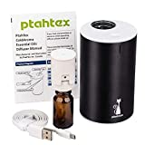 PtahTex 2nd Version Waterless Essential Oil Diffuser, Atomized Pure Essential Oil, Portable...