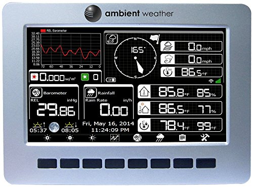 Product Image 4: Ambient Weather WS-1200 Observer Solar Powered Wireless Weather Station w/Solar Radiation & UV