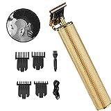 Tagliacapelli elettrico professionale, kit senza fili ricaricabile per la cura della persona, rifinitore con lama a T per taglio corto