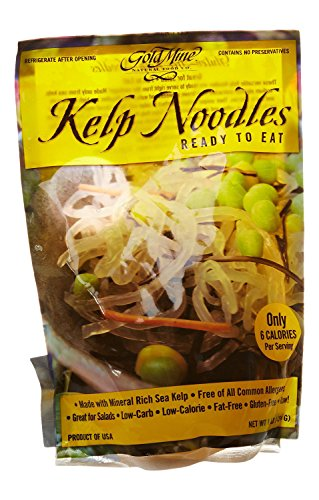 Gold Mine Kelp Noodles, Original, 1 lb, 12 Count