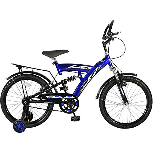Hero STRK20BLBK02 Turk Single Speed Bike, Junior (Blue/Black)
