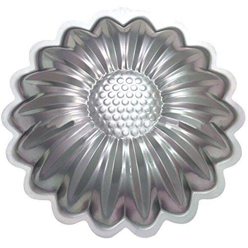 Hmlkeci 10 Inch Plane Aluminum Alloy 3D Cake Mold Baking Mould Tin Cake Pan - sunflower