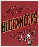 Northwest NFL Tampa Bay Buccaneers Campaign Fleece Throw Blanket, 50' x 60'
