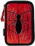 spiderman, 2700-221, astuccio double decker, riempito, multicolore, 19 cm
