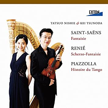 Saint-Saens: Fantaisie, Renie: Scherzo-Fantaisie, Piazzolla: Histoire du Tango, etc.