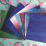 70 piezas cuadradas 15 * 15 cm origami star series patrón DIY niños papel origami manualidades scrapbook patrón de papel decorativo