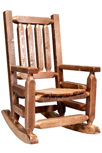 Montana Woodworks Homestead Collection Children's Rocker, Stain and Lacquer Finish