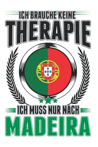 Madeira Tagesplaner: Madeira Therapie Reise Portugal Urlaub / Kalender 2022 / Wochenplaner Tagesplaner Planer / Planungsbuch To-