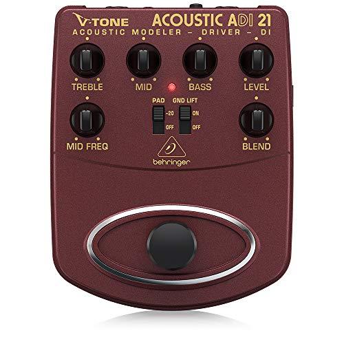 ベリンガー ギターエフェクター アコギ プリアンプ ダイレクトボックス DI V-TONE ACOUSTIC ADI21