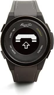 Kenneth Cole New York Unisex 10022806 KC Connect- Technology Digital Display Japanese Quartz Grey Watch