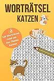 Worträtsel Katzen: Wortsuche, Buchstabensalat, Wörterrätsel, Gehirntraining für alle Altersgruppen - Finde 840 Wörter auf 120 Seiten