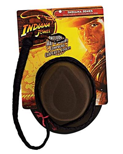 Horror-Shop Indiana Jones Hut und Peitsche Set