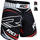 RDX MMA UFC Pantalones Corto Boxeo Entrenamiento Muay Thai Shorts Running...