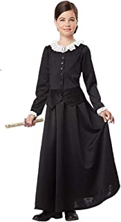 Susan B. Anthony Harriet Tubman Colonial Child XL (12-14) Costume