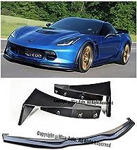 EOS Body Kit Front Bumper Lip Splitter Spoiler - For Chevrolet Chevy Corvette Stingray Z51 Z06 14-Up 2014 2015 2016 2017 2018