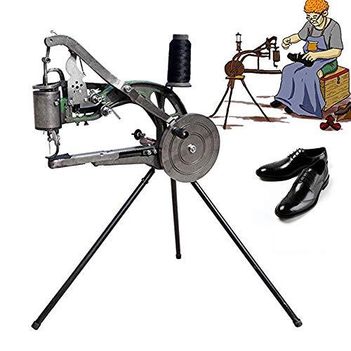 Schoen Reparatie Machine, Vintage Klassieke Schoenen Naaimachines, Handmatige Machine Cobbler Dual Katoen Nylon Lijn Naaimachine