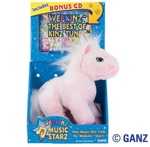 Webkinz Music Starz Pink Pony + CD Volume 1