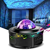 Led Night Light, Star Projector, Galaxy Projector, HOKEKI Lights for Bedroom, Starlight Projector,with Bluetooth Speaker, Can Remote Control Adjust Brightness, Suitable for Romantic Gifts