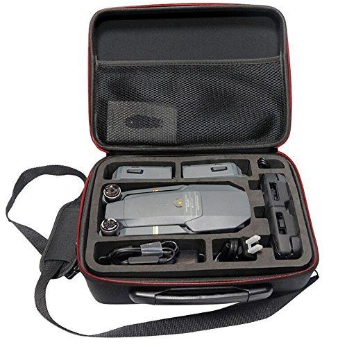 Étui de transport pour drone DJI Mavic Pro/Platinum et accessoires - Coque rigide étanche - Sac à bandoulière pour quadcopter télécommandé