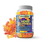 Hemp Gummies for Pain and Anxiety 350,000mg - Stress, Insomnia & Anxiety Relief - Made in USA - Tasty & Relaxing Gummies for Inflammation - Premium Extract - Mood & Immune Support Omeg 3-6-9 Complex