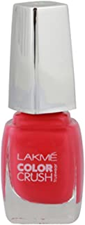 Lakmé True Wear Color Crush Nail Color, Pinks 21, 9 ml