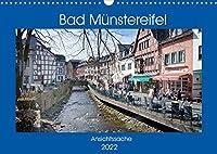 Bad Muenstereifel - Ansichtssache (Wandkalender 2022 DIN A3 quer): Spaziergang durch das beschauliche Bad Muenstereifel (Monatskalender, 14 Seiten )