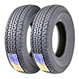 Set of 2 New premium qulity ST225/75R15 Radial Tires, brand:Free Country Full nylon cap ply ( nylon overlay cross entire tread area), significant upgrade from most other products on the market have nylon strips on shoulder area only, add the critical...