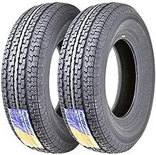 2 Premium FREE COUNTRY Radial Trailer Tires ST 225/75R15 10PR Load Range E w/ featured Scuff Gurard