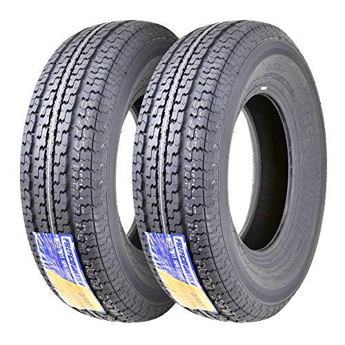 2 Premium FREE COUNTRY Radial Trailer Tires ST 225/75R15 10PR Load Range E w/featured Scuff Gurard