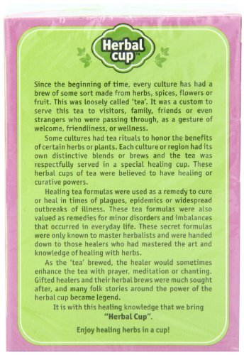 Herbal Cup Herbal Tea, Women's, 16 Tea Bags