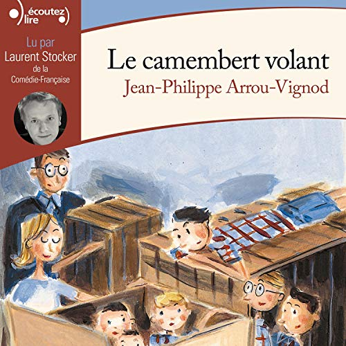 Le camembert volant audiobook cover art