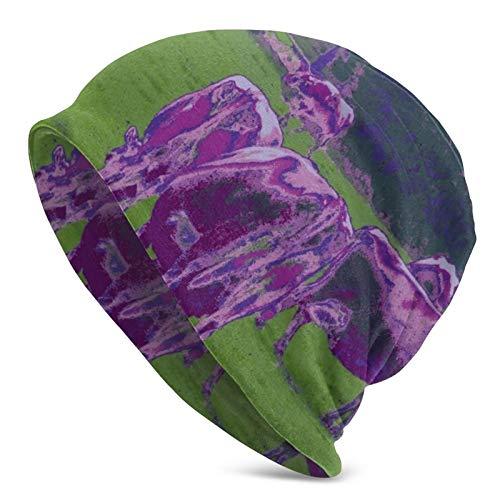 longdai Funda para casco con diseño de calaveras, color morado, compatible con...